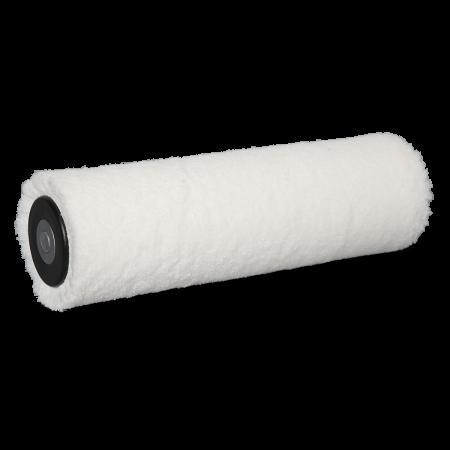 Rullo a pelo basso in microVelour ad alta densità: superiore capacità di assorbimento e potere coprente.